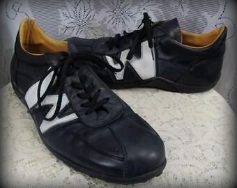 Men's leather shoes, Men's sneekers, Black shoes, Men's size 10 1/2 shoes, Men's running shoes, Black leather shoes