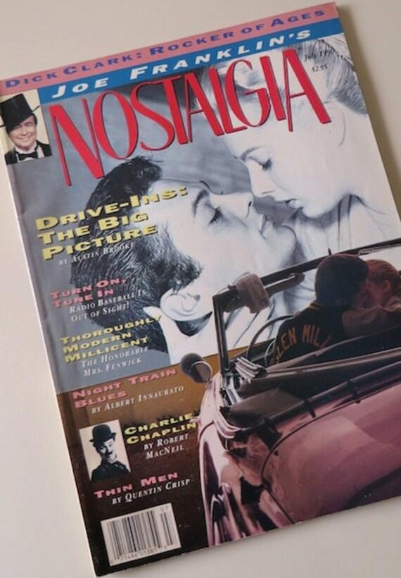 90s Vintage Magazine Joe Franklin 39 S Nostaglia Dick