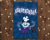 Have a Magical Birthday Greeting Card  |  Blue Magician