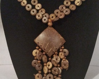 Beautiful Natural Seeds Necklace!!!