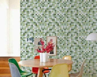 Peel and stick Removable self-adhesive modern vinyl Wallpaper - C046