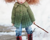 Queen Street Jacket for Littlefee Dolls (Knitting Pattern)