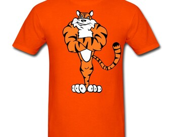 Unique bengals fan shirt related items etsy for Vintage bengals t shirts
