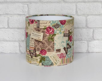 French themed table lampshade