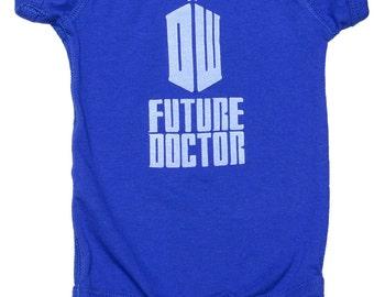 Doctor Who Future Doctor Onesie