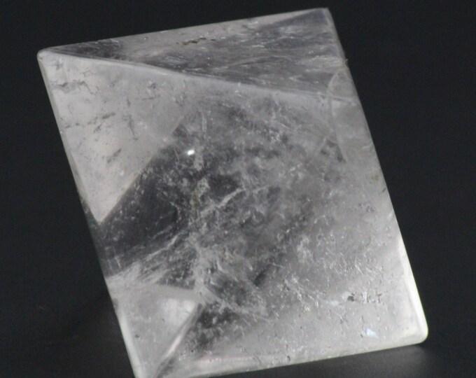 Quartz Crystal Diamond, Octahedron Plutonic Solid