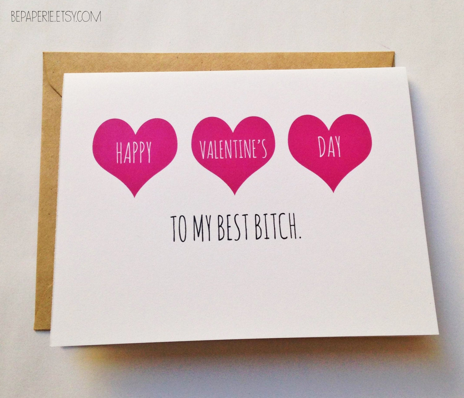 Friend valentine 39 s day card best friend valentine for What to get your best friend for valentines day