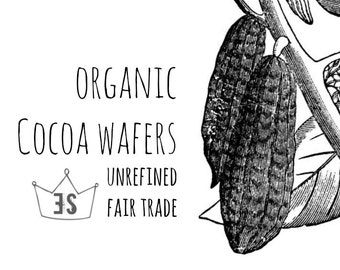 Organic Cocoa Butter - Organic Bath Melt - Cocoa Butter Lotion Making - Cocoa Butter Wafers