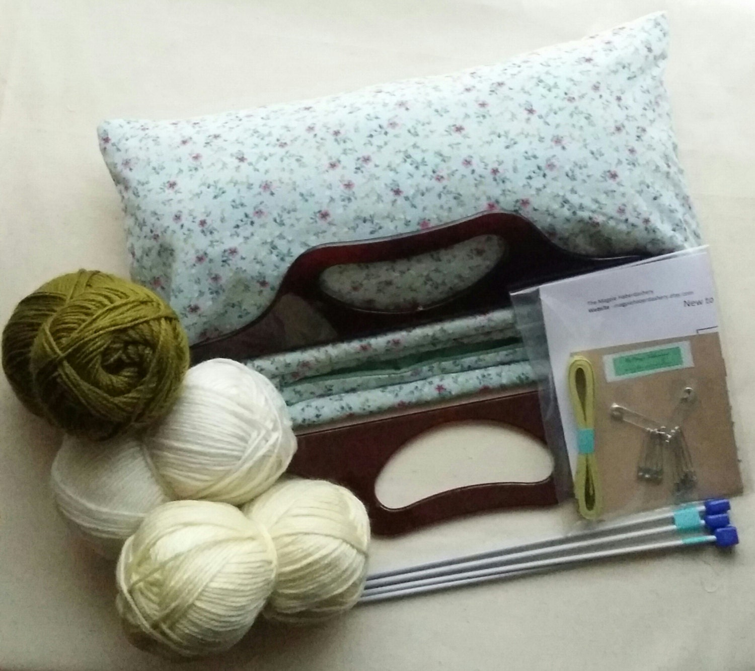 Knitting Kit For Beginners Singapore : Beginners knitting kit set and large by magpiehaberdashery