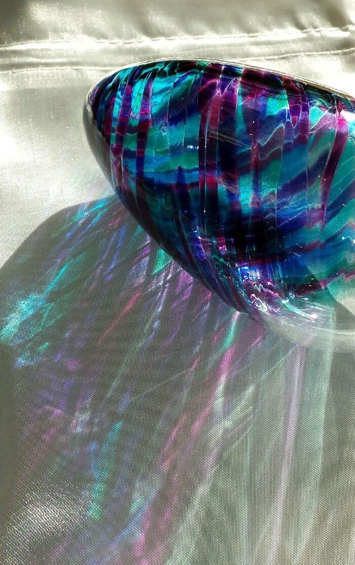 Break The Jewish Wedding Glass Under The Chuppah In Purple
