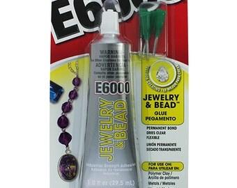 E6000 Glue - 1oz Tube with Precision Tips  (CE6007)