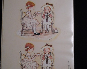 Vintage Holly Hobbie Decals for Crafting or for Framing from American Greetings