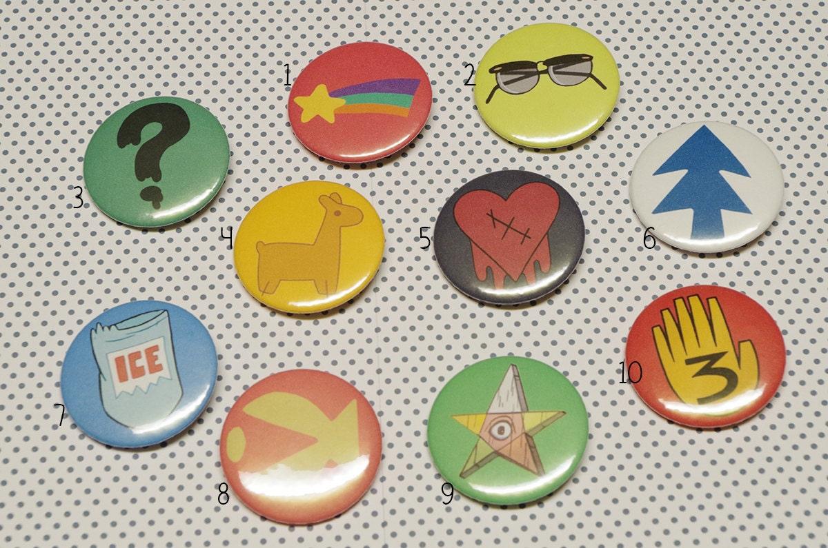 Aliexpress.com : Buy Gravity Falls Bill Cipher Enamel Pins