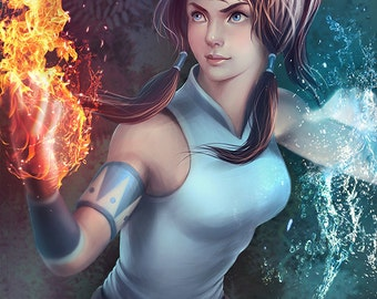 Legend of Korra Illustration A3 Print