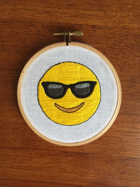 Cool Glasses Emoji Cool Sunglasses Guy Emoji