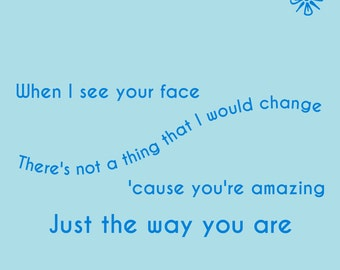 Bruno Mars - Just The Way You Are - Directlyrics