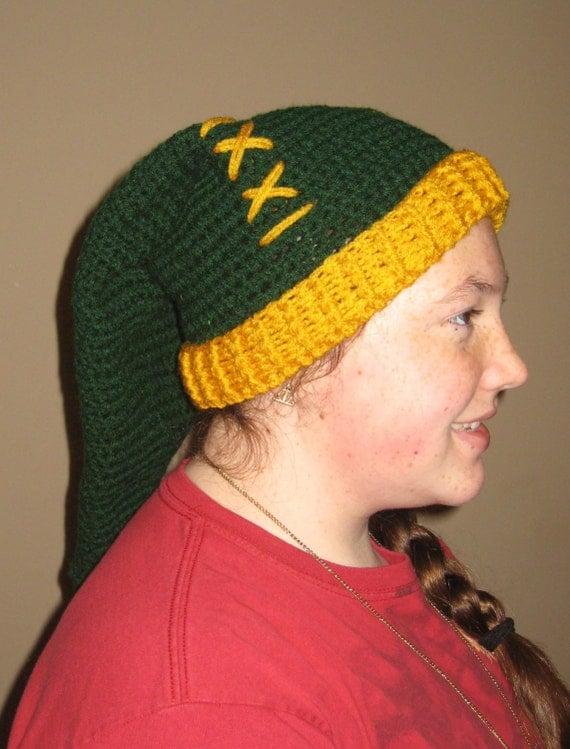Crochet PATTERN : Legend of Zelda inspired Winter Hat adult