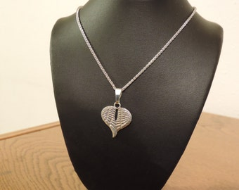 Angel Wings Heart Necklace Pendant (FREE SHIPPING)