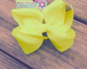 XL boutique hairbow | XL hairbows | XL hair bows