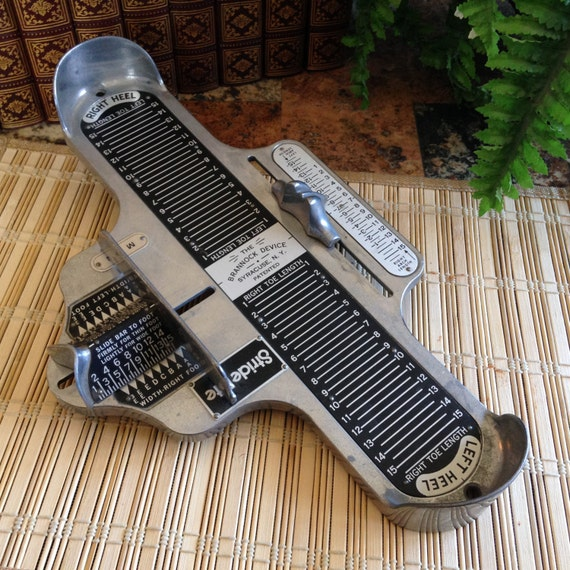 Name Of The Foot Measuring Device : The brannock device foot measuring instrument for