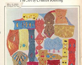 Macrame (The Art of Creative Knotting) by Virginia I. Harvey