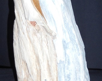 Driftwood Sculpture Angel in the Wind