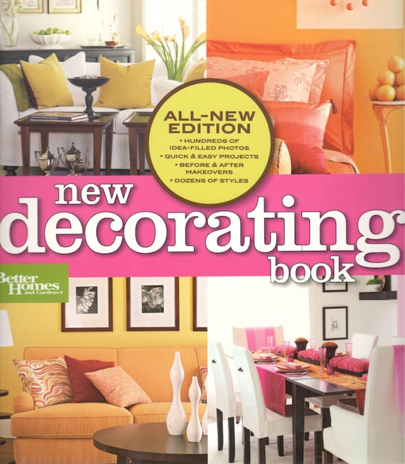 New Decorating Book Better Homes and Gardens Home Meredith
