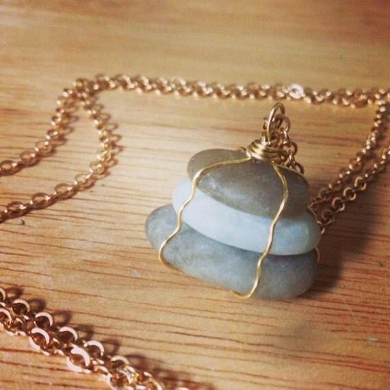 North Carolina Beach Stone Necklaces