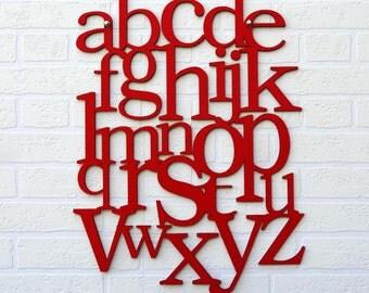 ABC Alphabet on the wall