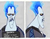 Villain Mugshots - Hades