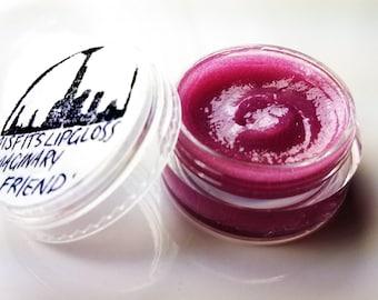 Misfits ~ 'Imaginary Friend' raspberry grapefruit lip gloss