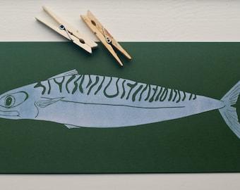 Print, Print, Print mackerel mackerel Makrele