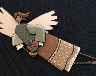Angel Folk Art