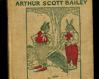 1915 The Tale of Frisky Squirrel Sleepy-Time Book