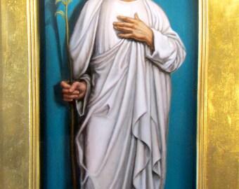 St. Joseph Canvas Print