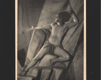 """Photograph from """"The Dance of Life"""", 1930s, Prometheus Bound  - 000137M"""
