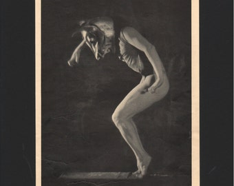"Photograph from ""The Dance of Life"", 1930s, Prometheus Bound  - 000139M"
