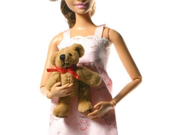 Doll clothes (nightdress+bear):  Holly