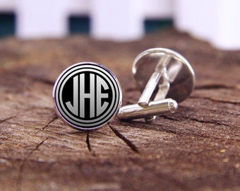 monogram cuff links, custom initials cufflinks, monogram cufflinks, monogram letter, custom wedding cufflinks, groom cufflinks, tie bar, set