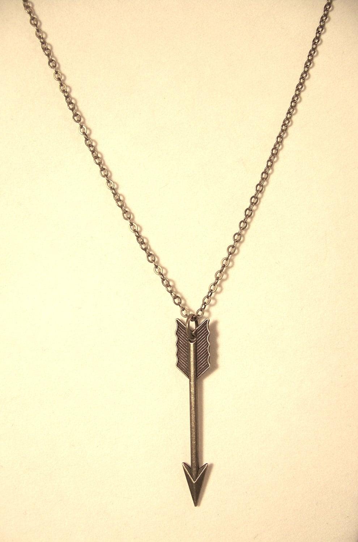 arrow necklace large bronze arrow necklace arrow jewelry