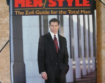 Men of Style: The Zoli Guide for the Total Man book guide mens male models
