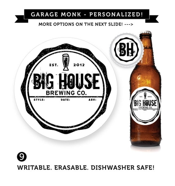 Customizable personalized beer labels by custombeerlabels for Custom beer labels and caps