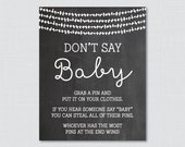Don't Say Baby Baby S...