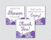 Flower Baby Shower Printa...