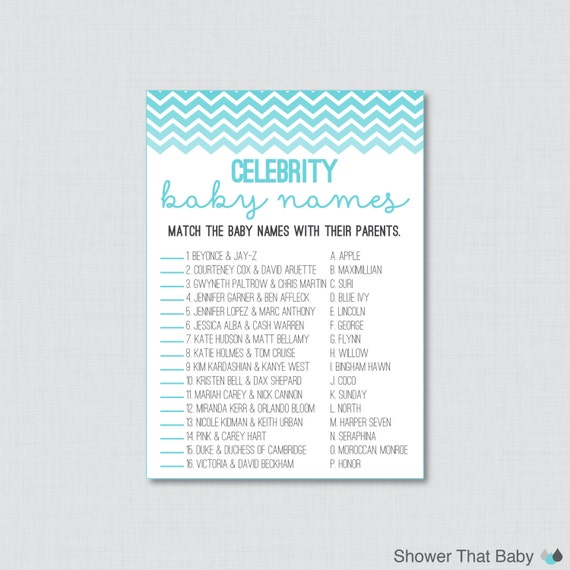 20 Printable Baby Shower Games That Are Fun To Play! – Tip ...