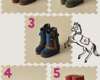 Blythe Dal Momoko JerryBerryMori Style Winter Boots