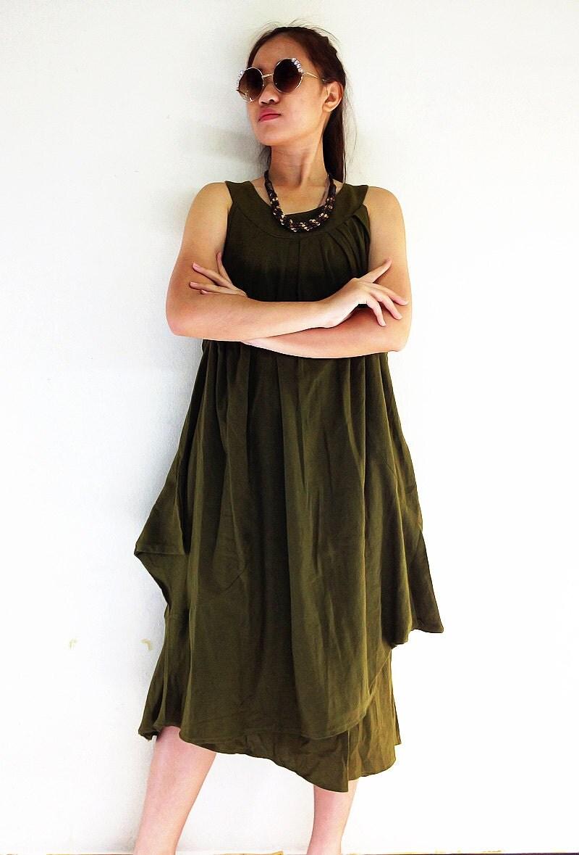 ds561 clothing organic cotton dress unique dress