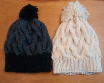 Cable-knit Toque