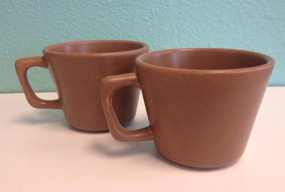 Vintage pottery mug Etsy