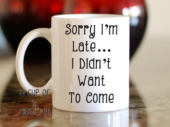 Custom Coffee Mug Personalized Coffee Mug By Acupofcustom
